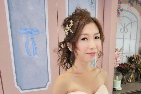 Tifa makeup studio~日式新娘馬尾造型