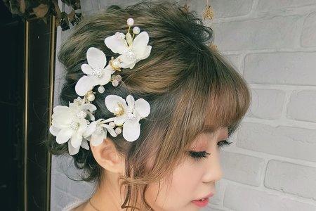 Tifa makeup audio~日系新娘抽絲髮型
