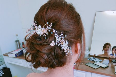 Tifa make up studio~文馨Bride文訂,大眼妝感