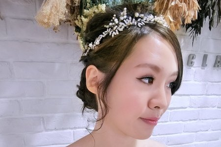 Tifa makeup~單眼皮新娘調整