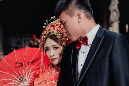 Tifa make up~中式婚紗,龍鳳掛,自助婚紗,整體造型