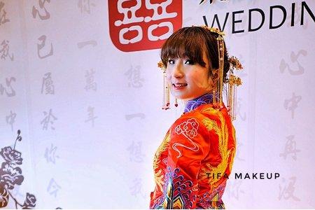 Tifa make up stylist|龍鳳掛/秀禾服/古式新娘造型/秀禾服