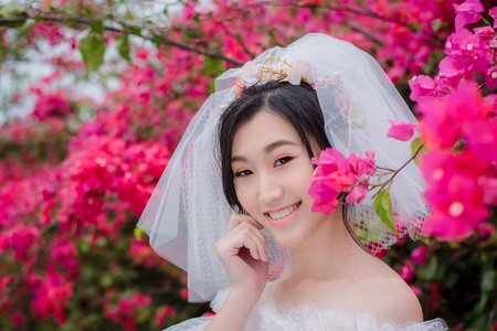Tifa make up stylist/九重葛小清新風格婚紗
