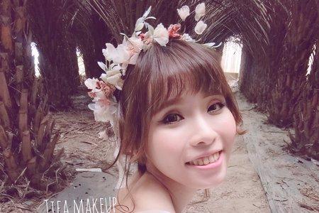 Tifa make up|外拍婚紗,落雨松自然風格