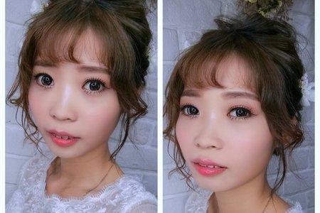 Tifa makeup | 日系髮型、抽絲髮型,娃娃眼妝容