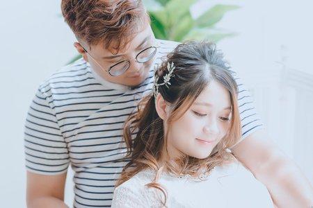 Tifa makeup stylist/孕婦寫真,純白系