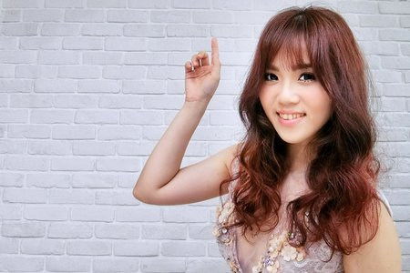 Tifa makeup stylist~甜美可愛妝容,浪漫髮型台中新娘秘書