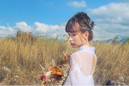 Tifa makeup~自助外拍婚紗/清新風格/明翰&Cindy