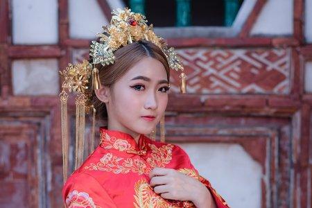 Tifa makeup|中式秀禾服婚紗,古裝