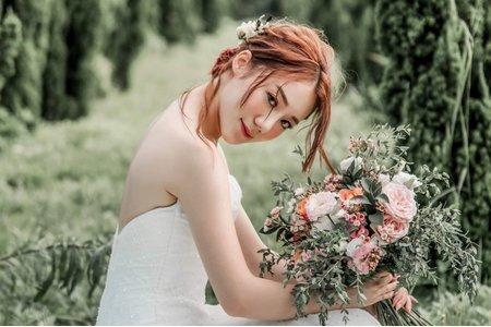 Tifa makeup| 婚紗外拍,個人婚紗風格