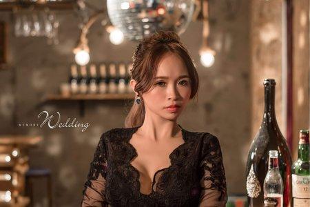 Tifa makeup~個性風造型婚紗