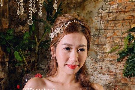 Tifa makeup| 韓式婚紗造型