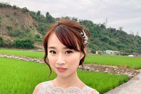 Tifa makeup|田園婚紗~