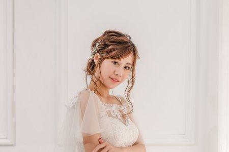 Tifa makeup| 甜美自然風婚紗