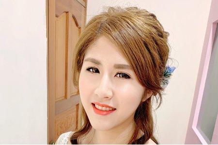 Tifa make up|筱羚Bride,婚宴造型
