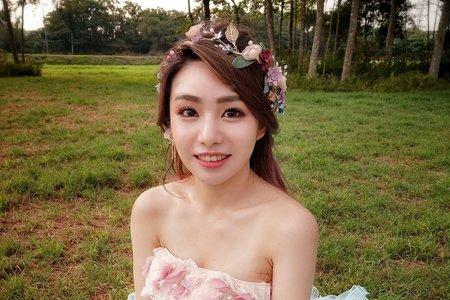 婚紗造型/簡約森林風格~噴槍底妝