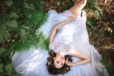 婚紗外拍~簡約韓風造型