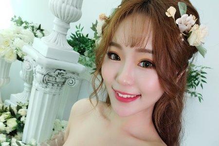 韓風公主式髮型/空氣瀏海