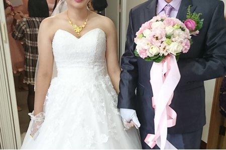 大雅結婚白紗造型