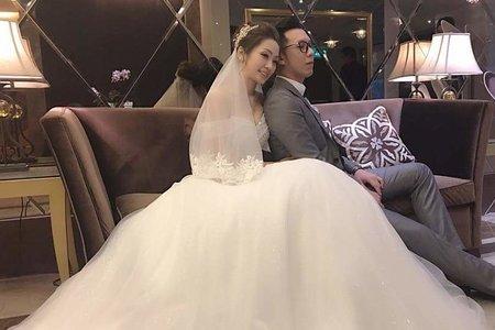 文訂結婚造型