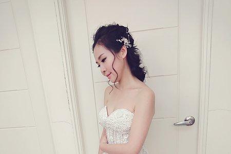 新娘俏麗短髮造型