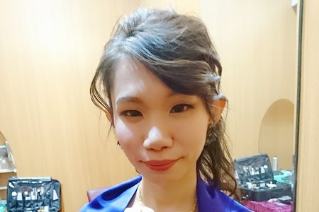 10/15宥芳新娘文訂送客造型
