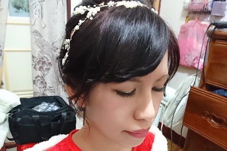 12/17新娘問文訂造型
