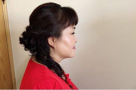107/6/3號婆婆妝髮,親友妝髮。