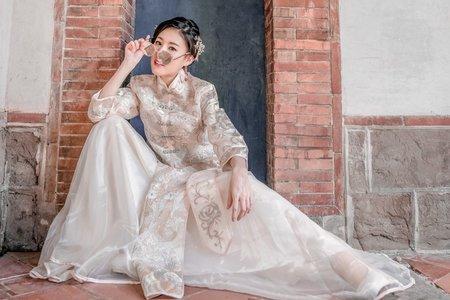 中式禾服造型