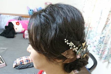 107/10/28文定新娘造型