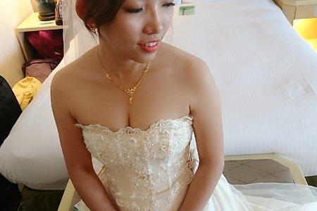 107/11/18台北新娘純宴客白紗造型