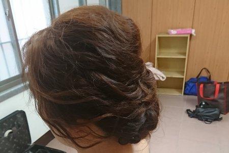 2019/01/13結婚新娘白紗造型