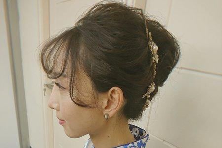 新娘中式禾服造型