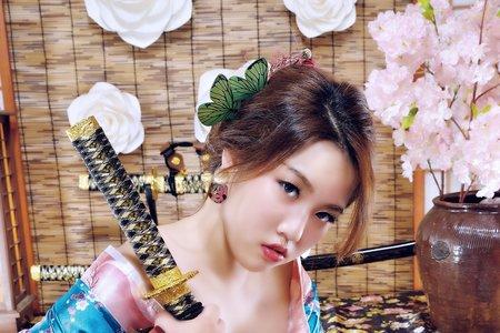 日本花魁造型