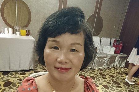 2019/10/12媽媽妝髮