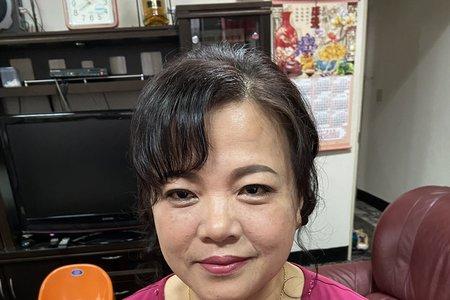 109/03/01婆婆妝髮