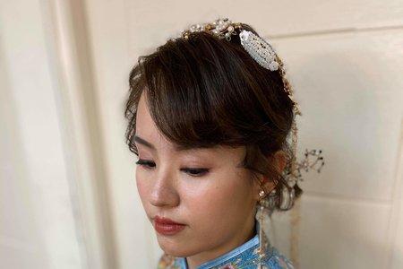中式繡禾服造型