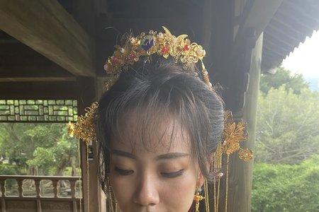 中式秀禾造型