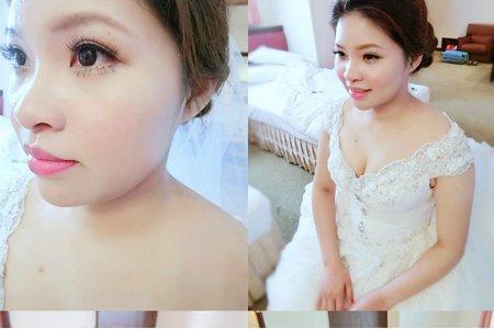 韓式 小輕新 新娘