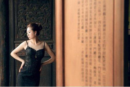 小晞新娘秘書-婚紗外拍(林安泰古厝#H2O手工婚紗)