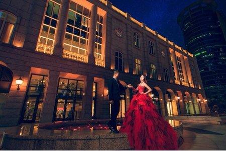 小晞新娘秘書-婚紗外拍(BELLAVITA貴婦百貨#H2O手工婚紗)