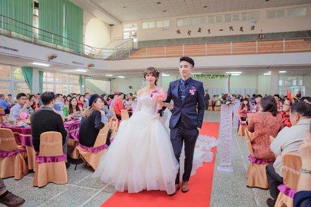 嘉義布新國小禮堂 / 新竹幸福紀時婚禮紀錄