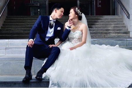 (婚禮紀錄) 早儀+晚宴  台北星靚點花園飯店