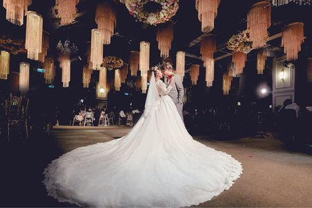 民權晶宴|婚攝推薦|香榭玫瑰園|Jeffrey&Elena