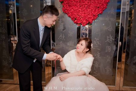 簡單的婚禮拍攝也能不簡單喔!