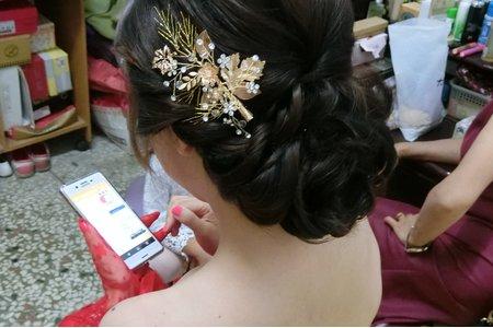 慧萍訂婚 鹿港新娘秘書 mina