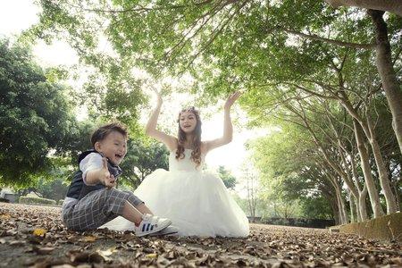 親子婚紗寫真