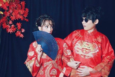 中式自助婚紗