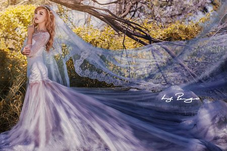 處女座創意婚紗 Virgo creative wedding dress