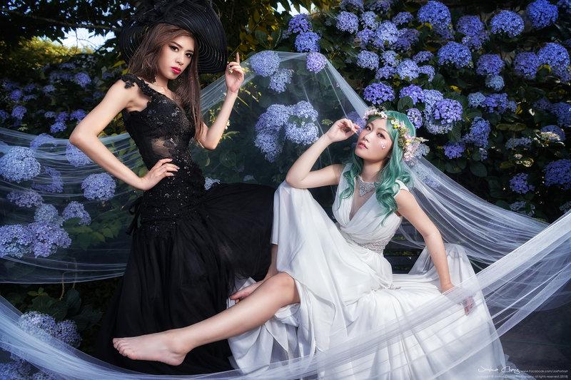 閨密婚紗純拍方案作品